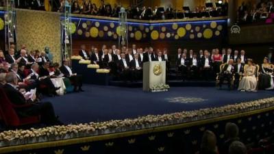 isvec - 2019 Nobel ödülleri protestolar gölgesinde sahiplerini buldu - STOCKHOLM