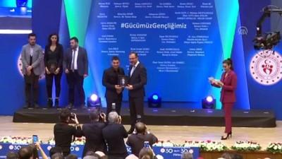 Bakan Kasapoğlu'ndan '30 Altı 30' programında yer alanlara ödül (2) - ANKARA