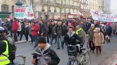 kamu calisanlari -  - Fransa'daki gösterilere 339 bin kişi katıldı