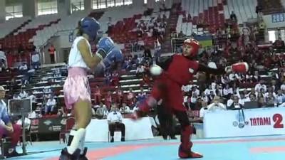 Kick boksta tüm branşlarda tek Avrupa şampiyonası heyecanı - ANTALYA
