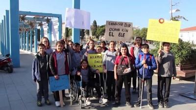 - ÖZEL) Engellilerin yaşadıkları zorlukları empati yaparak öğrendiler