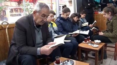 Siirt'te 7'den 70'e, çaycısından, kuyumcusuna herkes kitap okudu