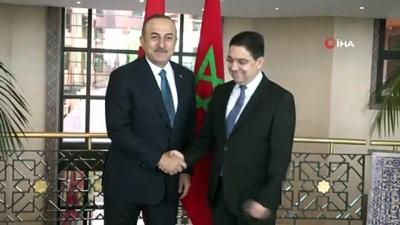 Dışişleri Bakanı Çavuşoğlu, Fas Hükümet Başkanı El Othmani ile görüştü