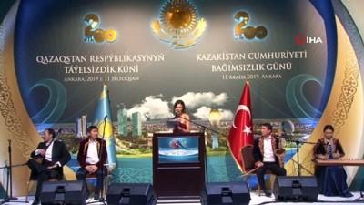Kardeş ülke Kazakistan'ın Bağımsızlık gününde duygu dolu sözler