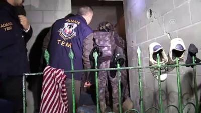 ozel harekat polisleri - Adana'da terör operasyonu