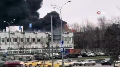 sanayi sitesi -  - Rusya'da sanayi sitesinde büyük yangın
