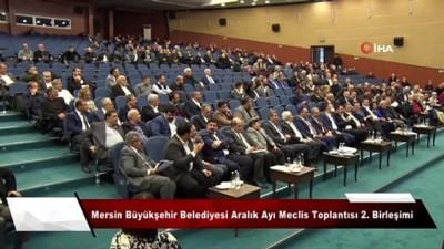 Mersin Büyükşehir Meclisi toplantısında prezervatif tartışması