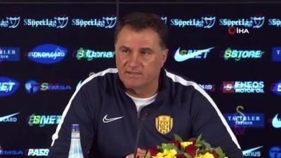 """Mustafa Kaplan: """"Futbolcularımı kutluyorum"""""""