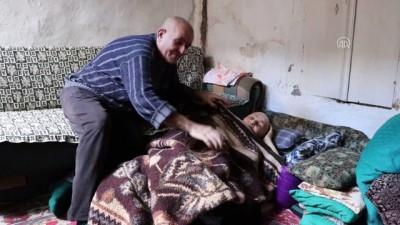 Böbrek hastası evlattan meme kanseri yatalak anneye şefkat eli - BURDUR