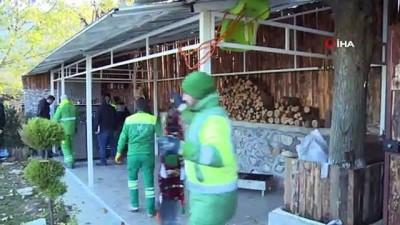 Bursa'da kaçak yapıların yıkımına devam ediliyor