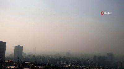 - İran'da hava kirliliği rekor seviyede - Başkent Tahran'da okullar 2 gün tatil edildi