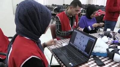 meyra - Türk Kızılayı gönüllüleri AA'nın 'Yılın Fotoğrafları' oylamasına katıldı - AĞRI