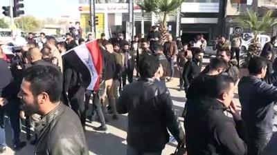 Atama bekleyen üniversite mezunlarından protesto - KERKÜK