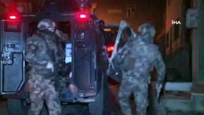 ozel harekat polisleri -  İstanbul'da uyuşturucu operasyon 103 şüpheli gözaltına alındı