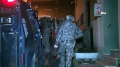 ozel harekat polisleri -  İstanbul'da uyuşturucu operasyon çok sayıda gözaltı