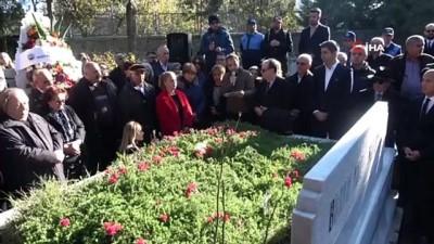 anma toreni -  Kartal Belediyesi eski başkanlarından Mehmet Ali Büklü kabri başında anıldı