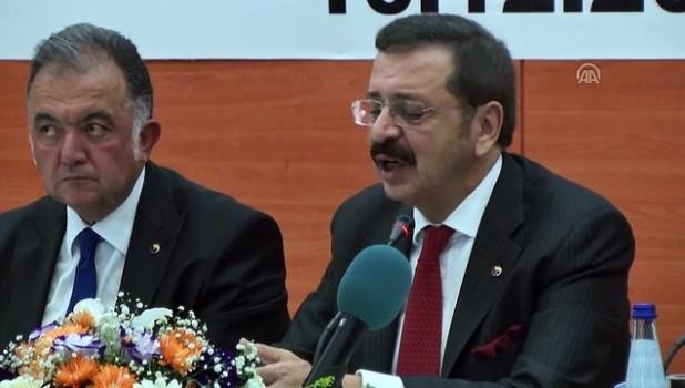 hizli tren hatti - Osmaniye Ticaret ve Sanayi Odası istişare toplantısı - TOBB Başkanı Hisarcıklıoğlu