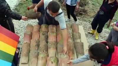 Özel gereksinimli öğrenciler atık malzemelerden köpek yuvası yaptı (2) - KIRKLARELİ