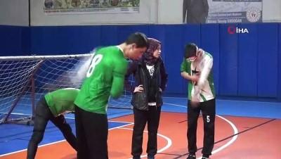 Sinop'ta goalball müsabakaları başladı