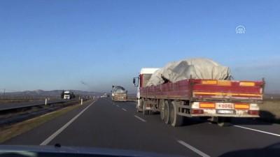 Suriye sınırına arazi aracı ve mühimmat takviyesi - KİLİS