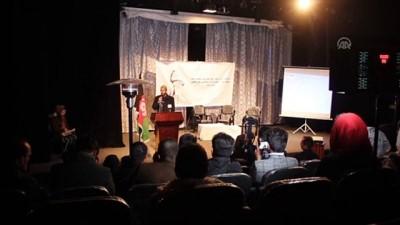 anma toreni - Afganistan'da Hazreti Mevlana'nın 746. Vuslat Yıl Dönümü töreni - KABİL