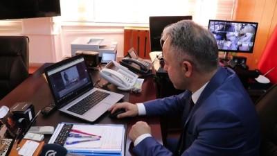 Burdur Jandarma Komutanı ve Emniyet Müdürü, AA'nın 'Yılın Fotoğrafları' oylamasına katıldı - BURDUR