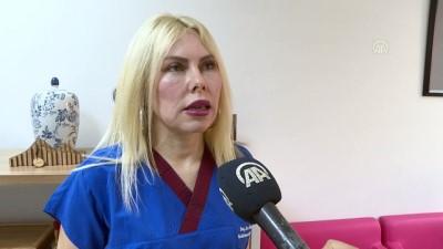 Estetikten sonra dudağı zarar gördüğü iddia edilen kadın tedavi için başvurdu - ANTALYA