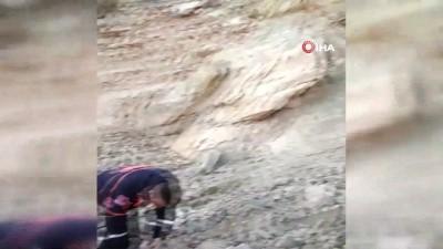 Kayalıklardan düşen çoban hayatını kaybetti