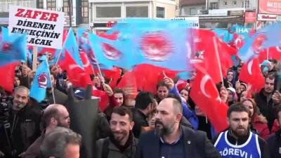 Bursa'da 5 bin metal işçisi eylem yaptı