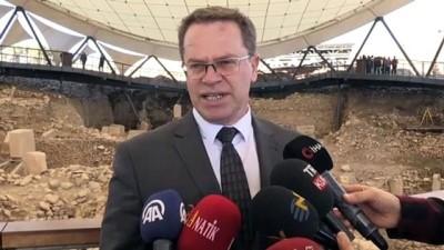 gorece - Kuzey Makedonya Kültür Bakanı Hüsni İsmaili Göbeklitepe'yi gezdi - ŞANLIURFA