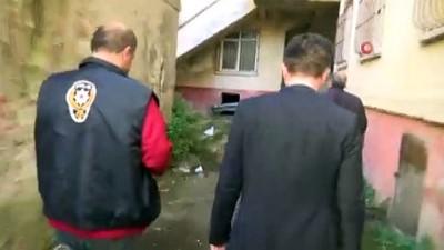 Polis ekipleri metruk binalar ve okul çevrelerinde narkotik uygulamalarını sıklaştırdı