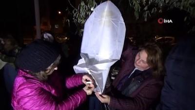 kamu calisanlari -  Engelsiz bir gelecek için balonlar gökyüzüne bırakıldı