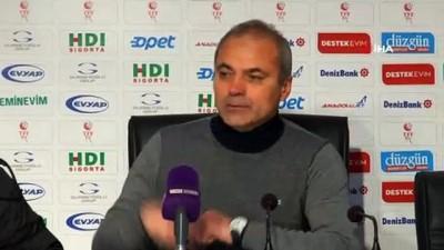 BB Erzurumspor - Altay maçının ardından