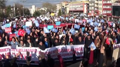 İnegöllüler Doğu Türkistan için yürüdü