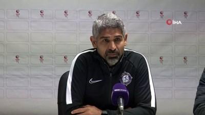 """İsmet Taşdemir: """"Maçı puan olarak geri çevirmek de önemliydi"""""""