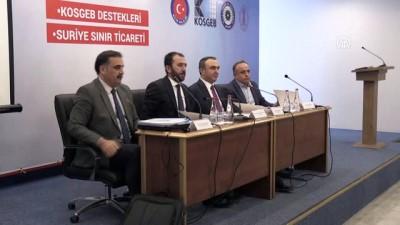 'KOSGEB destekleri ve sınır ticareti' konulu toplantı - KİLİS