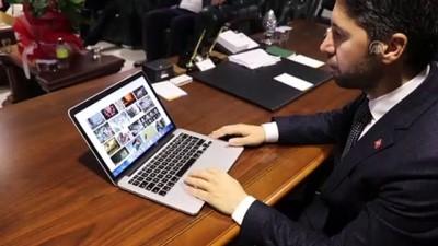 AK Parti İl Başkanı Mehmet Ay, AA'nın 'Yılın Fotoğrafları' oylamasına katıldı - ADANA