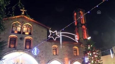 Antakya'daki Ortodoks kilisesinde Noel ayini yapıldı - HATAY