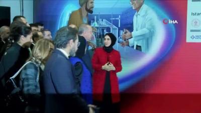 Cumhurbaşkanı Erdoğan İstanbul Havalimanı'nda sergi açılışına katıldı