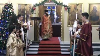 İskenderun Ortodoks Kilisesi'nde Noel ayini - HATAY