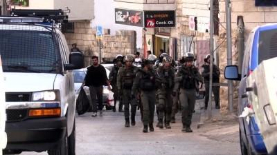 İsrail güçleri Doğu Kudüs'te Filistinli aileye ait inşat halindeki evi yıktı - KUDÜS