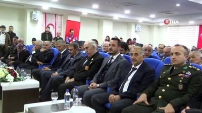 Kıbrıs Barış Harekatı'na katılan 41 gaziye madalya ve berat