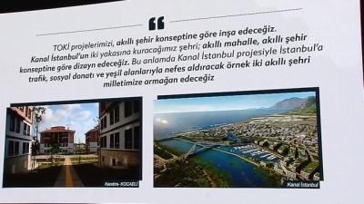 Kurum: '(Kanal İstanbul projesi) Kuracağımız şehir akıllı mahalle, akıllı şehir konseptine göre dizayn edilecek' - ANKARA