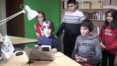 Ortaokul öğrencileri radyoculuk hayallerini okullarındaki stüdyoda gerçekleştiriyorlar - KIRKLARELİ