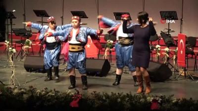 halk oyunlari -  Özel öğrencilerden farkındalık oluşturan gösteri