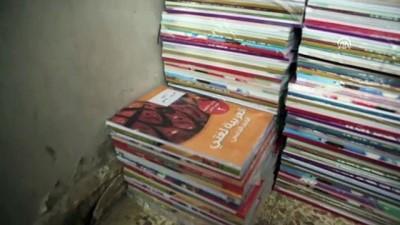 Tel Abyad'da 300 öğrenciye ders kitabı dağıtıldı