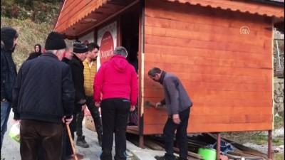 Uzungöl'de kaçak binaların yıkımı devam ediyor (6) - TRABZON