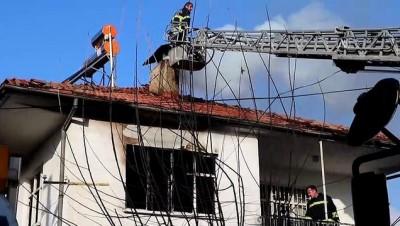 Evinde yangın çıkan yaşlı kadın öldü - BURDUR