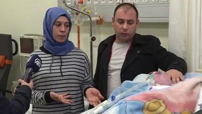 Anensefali hastası bebek azmiyle doktorları bile şaşırtıyor (2) - ANKARA