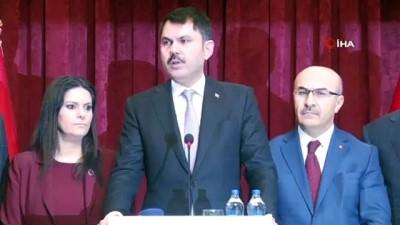 Bakan Kurum Adana'da yağışların tahribatını açıkladı, konut müjdesi verdi